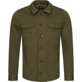 super.natural Knit Jacket Men, oliwkowy